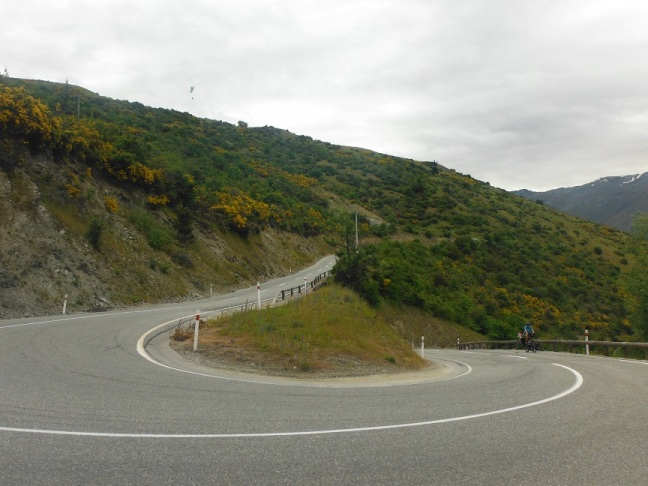 Tight hairpin bends